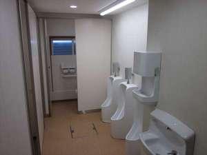 旅館千登勢屋:お手洗い(男性)2016年12月に改装致しました