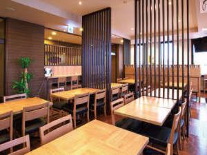 ホテルルートイン宇都宮ゆいの杜:朝食レストラン会場: 和み(なごみ) ご利用時間⇒06:30~09:00