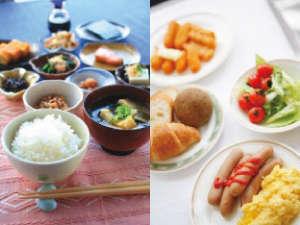 ホテルルートイン宇都宮ゆいの杜:バイキング朝食【無料】後宿泊の皆様にお召し上がりいただけます。