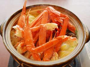 リブマックスリゾート鬼怒川:【かにすき鍋】3月末まで!旬の味をお楽しみ下さい。