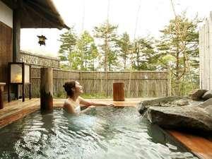 湯宿 季の庭(ときのにわ):【貸切風呂】「竹座」日本の和を感じながら