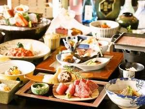 湯宿 季の庭(ときのにわ):【夕食】月替りの会席料理をご用意。