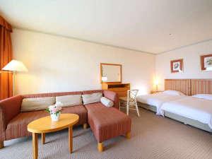 和歌山マリーナシティホテル:【バルコニーツイン】広々40平米で、バルコニーとオーシャンビューバス付き♪