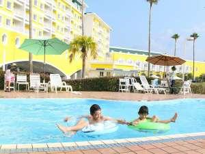 和歌山マリーナシティホテル:【ガーデンプール・宿泊者無料】営業日:2017年7月16日(日)~9月3日(日)