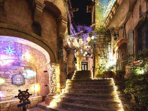 フェスタ・ルーチェ/路地には幻想的な世界が広がります。まるでヨーロッパのクリスマス★