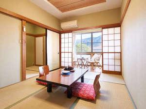 温泉ホテル強羅館:*【和室(一例)】やっぱり和室!温泉宿ならではの、のんびりしたひとときを!