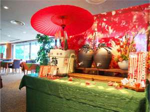 箱根小涌谷温泉 ヴェルデの森 WLC:レストランイメージ「日本酒フェア」