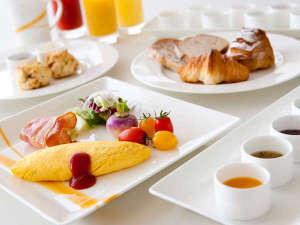 シェラトングランドホテル広島:朝食オムレツ