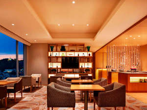 シェラトングランドホテル広島:クラブラウンジ