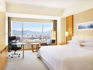 シェラトングランドホテル広島:デラックスキングルーム