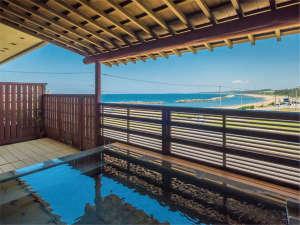 年中活蟹の宿 展望三国温泉 はれや旅館:露天風呂