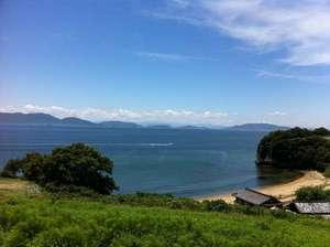 民宿 南風荘:宿からの景色☆ 海を見ながら畳でごろごろ