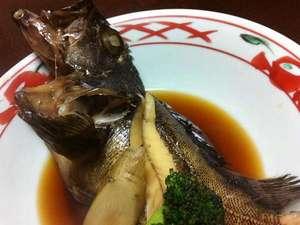 民宿 南風荘:瀬戸内といえば メバル(カサゴ)の煮付け☆ 昔ながらのあっさり味付けでメバルの旨味を味わいます