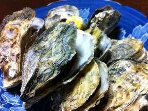民宿 南風荘:牛窓産 牡蠣の酒蒸し☆殻付きでご提供  冬限定の味です