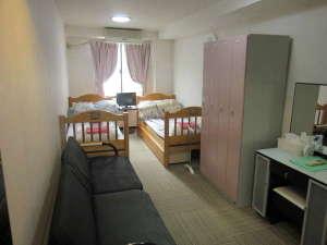レディースホテル プチハウス:2人部屋になります。