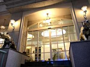広島インテリジェントホテル:新館エントランス