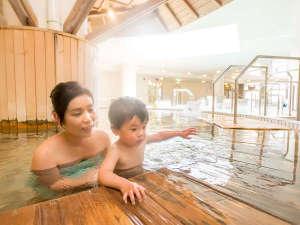 シャトレーゼ ガトーキングダムサッポロ ホテル&スパリゾート:9種の浴槽と広い大浴場で温泉気分♪ゆったりお寛ぎ下さい。