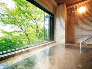 ゆとりろ庵 ANNEX:大浴場では掛け流しの強羅温泉がお愉しみ頂けます