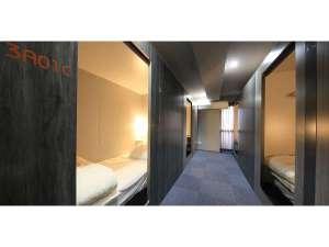 ビーグル東京ホステルアンドアパートメンツ:女性・コンフォートクレイドル