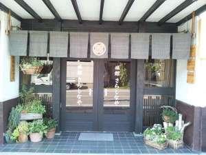 旅館さらしなや:玄関