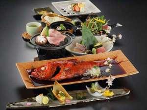 【金目鯛コース】2017年3月~春季。秘伝のタレで丸ごと金目鯛を大鍋で料理