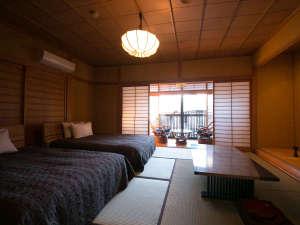 サリーガーデンの宿 湯治 柳屋:【新館 客室一例】一部屋一部屋、趣が異なる7部屋。落ち着いた和の雰囲気を大切にしています。