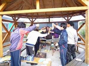 みんなそろって、屋久島旅行記念に、『かんぱ~い!!』