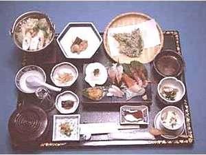 奥入瀬グリーンホテル:食事例