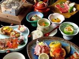夢龍胆:【夕食】一品一品に真心こめた会席料理/一例