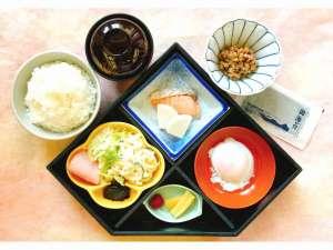 ホテルニュー松ヶ枝(まつがえ):からだにやさしい日替わり和朝食860円、朝7時から9時