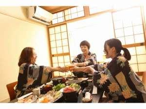 日本三美人の湯 湯元 湯の川:女子会~楽しくお部屋食~