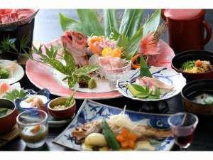 日本三美人の湯 湯元 湯の川:山陰の高級魚【のどぐろ】フルコースプラン~一例~