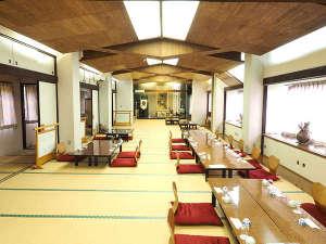 かぢや旅館:ご夕食会場