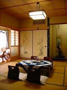 温泉民宿 かわべ:1階 和室