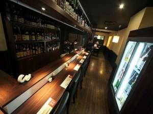 前橋 ホテルサンカント:1F食彩酒房きわみやカウンター