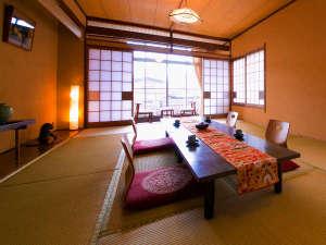 ◇【和室10-15畳】グループ旅に最適!ゆったりひろ~いお部屋でごゆっくり♪