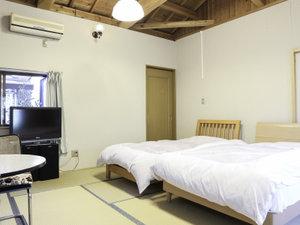 平野屋旅館:*【お部屋】和室だけどベッドで眠りたい方おすすめ★