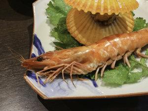 平野屋旅館:*【お料理】贅沢に車海老もまるっと召し上がれ♪
