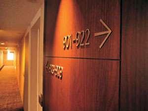 津都ホテル:客室フロア