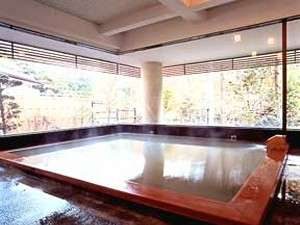 秘湯の宿 元泉館:高尾の湯(大浴場)効能はは神経痛、リウマチなど。