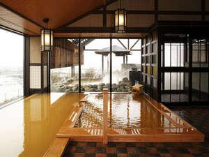 ラビスタ函館ベイ <共立リゾート>:【内湯】泉質は体の芯まで温まる「ナトリウム塩化物強塩泉」