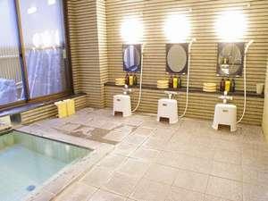 安曇野 リゾートイン グリーンベル:『天然温泉~薬師~中房渓谷からの引き湯 チェックインから夜間~早朝時間制限なくご利用頂けます』