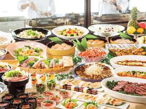 ホテルグリーンプラザ浜名湖:和洋中のメニュー50種が食べ放題のディナーバイキング。