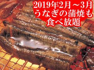 ホテルグリーンプラザ浜名湖:【期間限定】うなぎの蒲焼(2019/2/1-3/31) 炭火で柔らかく焼きあがった肉厚のうなぎの蒲焼! ※イメージ
