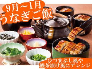 ホテルグリーンプラザ浜名湖:【期間限定】うなぎご飯(2018/9/1-2019/1/31)ひつまぶし風や鰻茶漬けにアレンジして楽しめます!