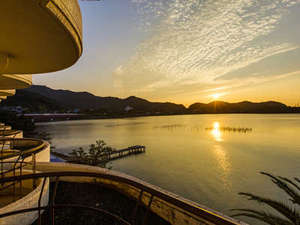 ホテルグリーンプラザ浜名湖:朝日の絶景レイクビューをお部屋から鑑賞!空気の澄んだ今がオススメ◎