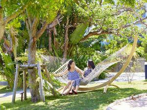 ANAインターコンチネンタル石垣リゾート:リゾート地にはかかせないハンモック