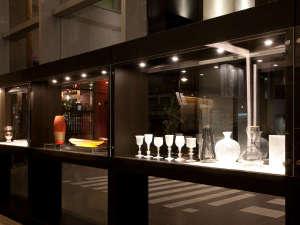 富山エクセルホテル東急:とやまのガラスギャラリー