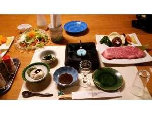 飛騨牛料理 おやど螢:ステーキプラン