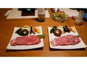飛騨牛料理 おやど螢:飛騨牛200g